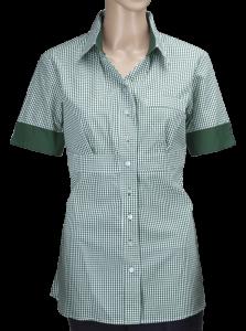 bluzka zielona w paski