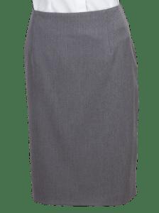 szara spódnica