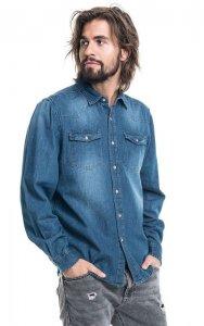 koszula blue jeans
